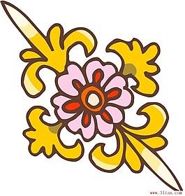 傳統花紋ai格式