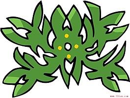 傳統花紋圖案ai格式