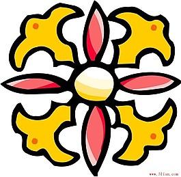 古代花紋ai格式
