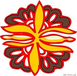 矢量古代花紋ai格式