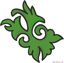 ai格式古代花紋