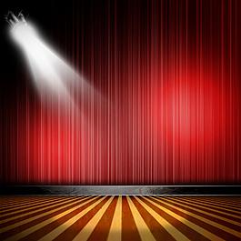 精美舞臺燈光背景高清圖片