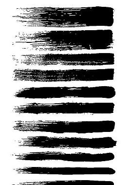 筆刷矢量素材
