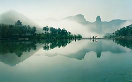 山水風景背景