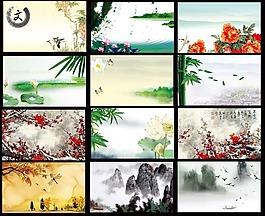 中國風名片模板PSD素材免費下載