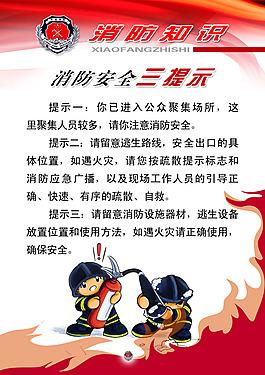 消防安全展板消防安全宣傳畫消防知識