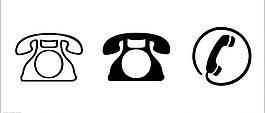 矢量電話圖標圖片