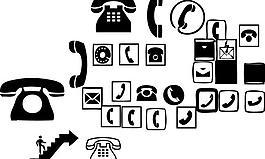 常用电话标识标识图片