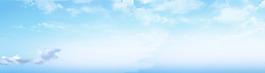 蓝天白云素材背景
