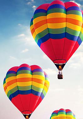飛越夢想氫氣球廣告設計