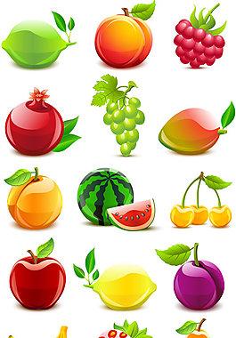 水果AI矢量图