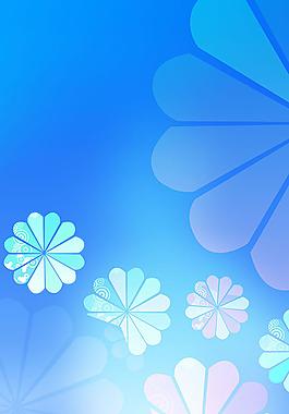 花紋背景廣告設計高清寫真海報