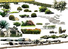 景觀設計素材psd格式