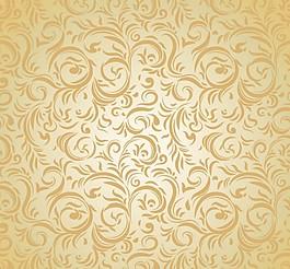 古典花紋背景設計矢量素材