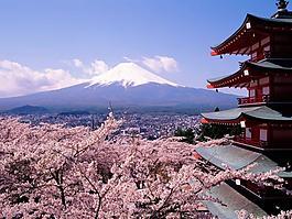 日本富士山高清圖片