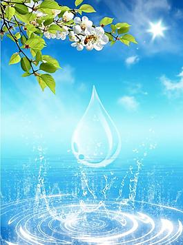 水紋 水花 水滴圖片
