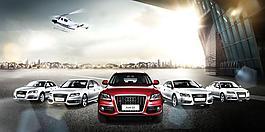 汽車廣告海報圖片