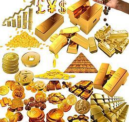 金币 金条素材图片