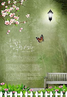 春天背景圖片