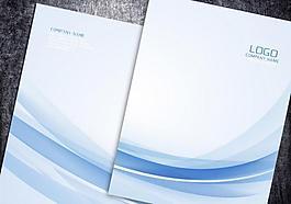 簡潔畫冊封面企業畫冊背景封底圖片
