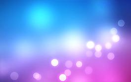 藍色光暈背景