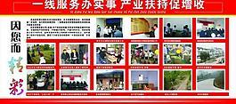 村务展板图片