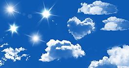 蓝天白云太阳