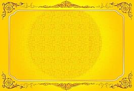 金色邊框背景圖片