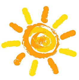 卡通太陽設計矢量素材