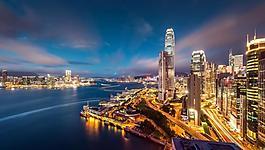 城市夜景圖片
