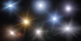 燈光夜景素材圖片