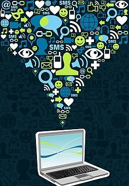 信息時代創意設計矢量