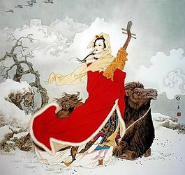 王昭君圖片
