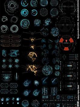 科幻电影元素图片