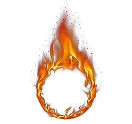 火火焰火圈圖片
