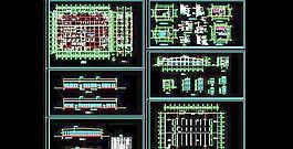 一层厂房车间建筑设计施工图