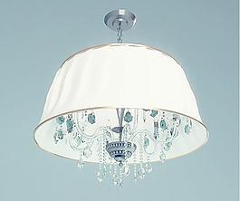 Chandelier Wunderlicht 帶燈罩水晶吊燈 吊燈 水晶吊燈