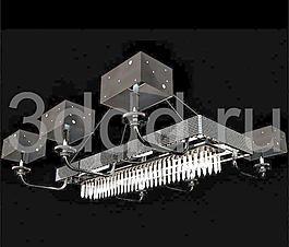 Chandelier Tios 黑色吊燈 吊燈