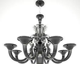 Chandelier Sylcom Lampadario 1425 8 黑色吊燈 吊燈