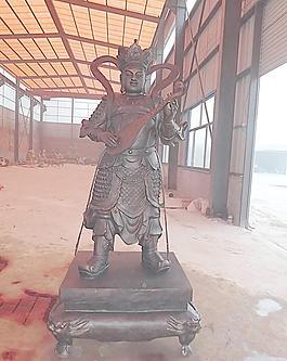 銅佛像 四大天王圖片