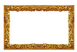 古典龍紋邊框