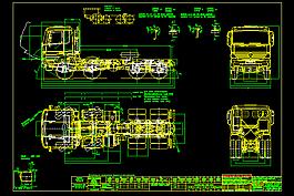 奔馳汽車圖紙(卡車)CAD圖紙
