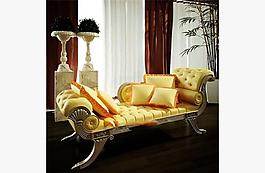 金屬貴妃椅