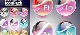 Adobe CS4大理石Adobe CS4圖標圖標圖標圖標Adobe Adobe CS4大理石