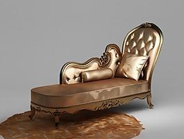 貴妃椅3d模型