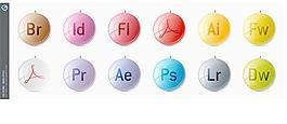 Adobe CS3圖標-圣誕風格Adobe CS3圖標Adobe圖標