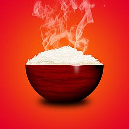 米飯PSD分層素材