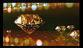 三維鉆石視頻素材