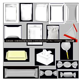 各类包装效果图