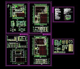 廠房建筑圖紙